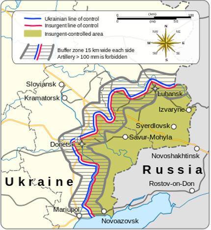 Minsk Treaty map