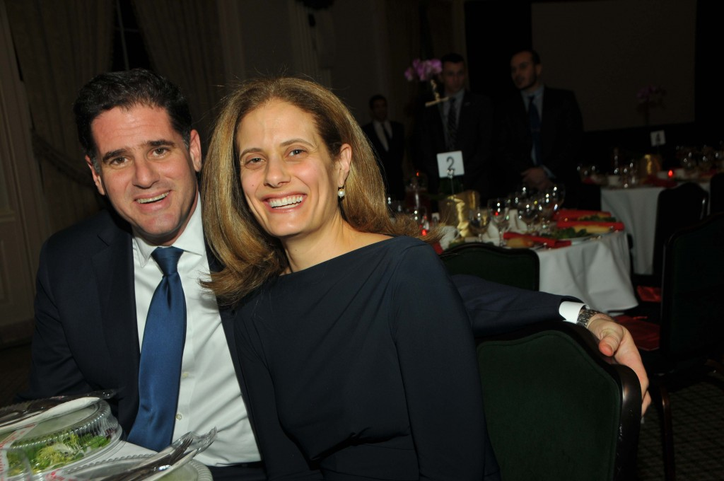 Ambassador Ron Dermer and wife Rhoda. Photo by Tim Boxer