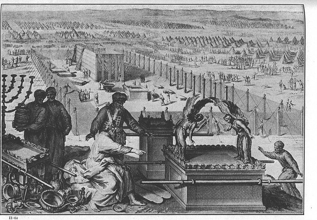 Contributions for building the Tabernacle.