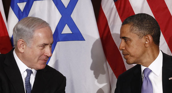 Obama with Netanyahu in New York in 2016.