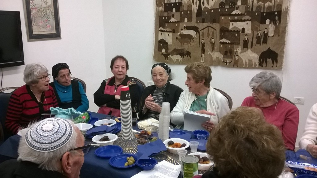 Tu B'Shvat Seder in Jerusalem