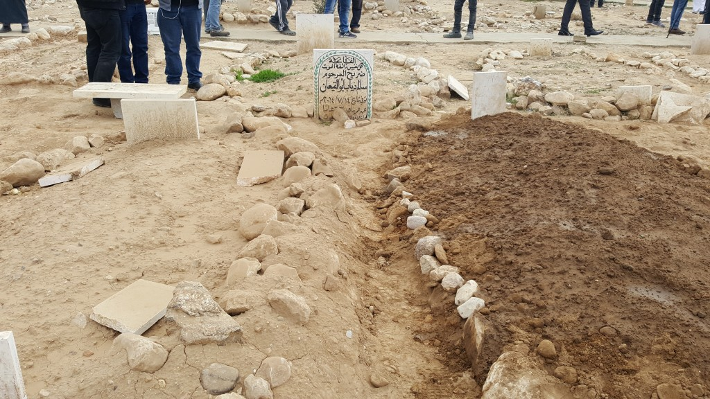 The graves of Musaand Ya'akub. Father and son are now together.