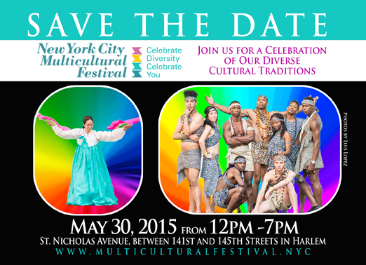 2015 Multi-Cultural Festival Poster and Advertisement