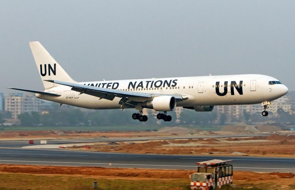 UN Boeing 767 (M. Azizul Islam, Bangladesh, jetphotos.net)