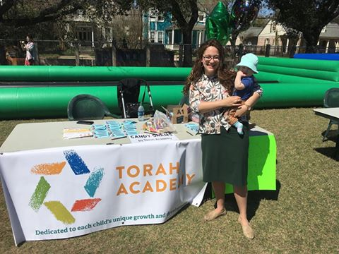 Torah Academy Promotion Table and Information Session