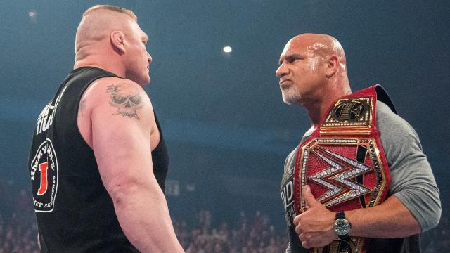 Goldberg Lesnar Belt