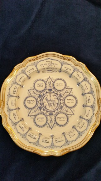 Joan Rivers' Seder Plate which is set to sell at auction in late April.