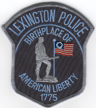 Lexington PD patch
