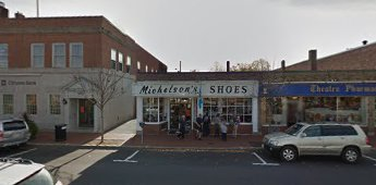 Michelson's Shoes storefront