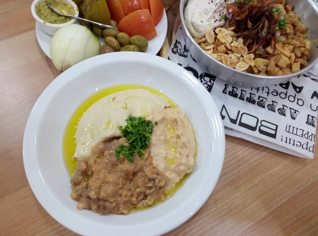 Hummus in Wadi Nisnas