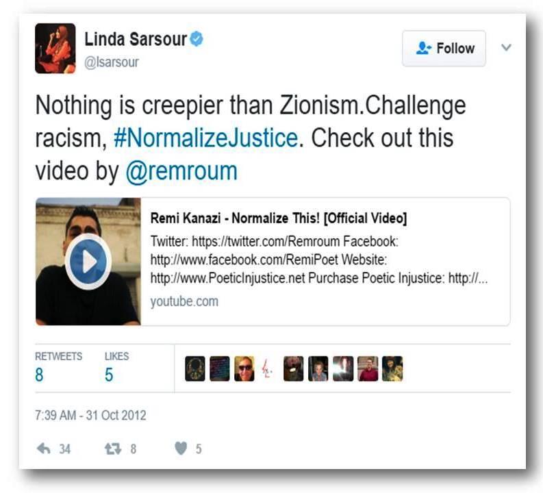 Sarsour Zionism creepy