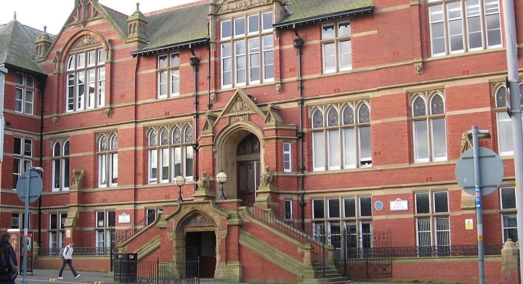 Harris Building, the first building built at UCLan