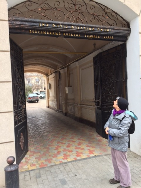 Rabbi Laura in Odessa