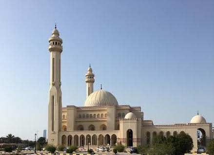 The Al Fateh Grand Mosque.