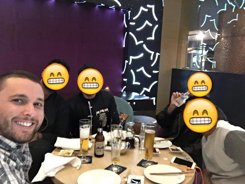 Three Saudis, one Bahraini, and one Israeli walk into a bar...
