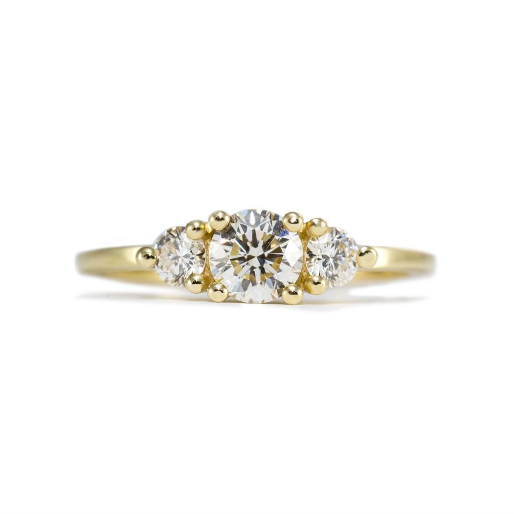 טבעת אודרי זהב ויהלומים 12200 שח