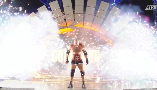 Goldberg's WrestleMania Entrance (Photo Credit:WWE.com)
