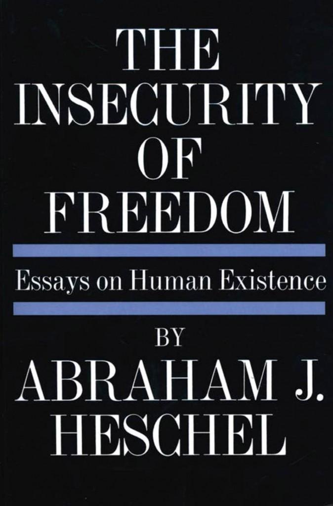 Heschel book cover