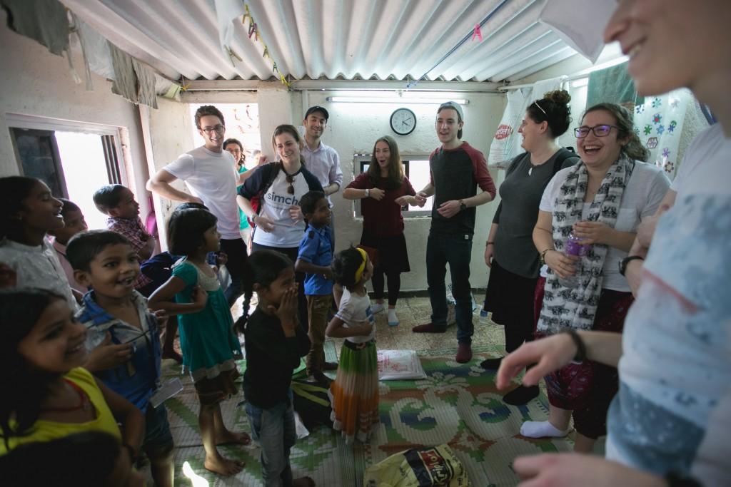 Ben Azzai participants at the GPM school in Kalwa Slum