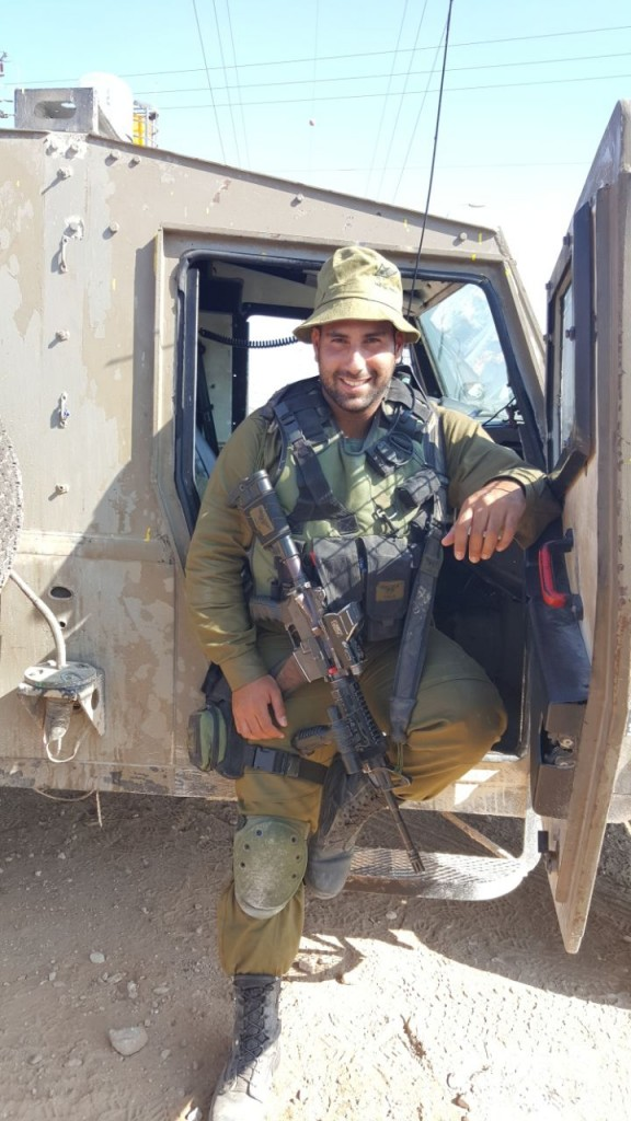 Dor Dahan in Nepal (Courtesy IDF Spokesperson's Unit)