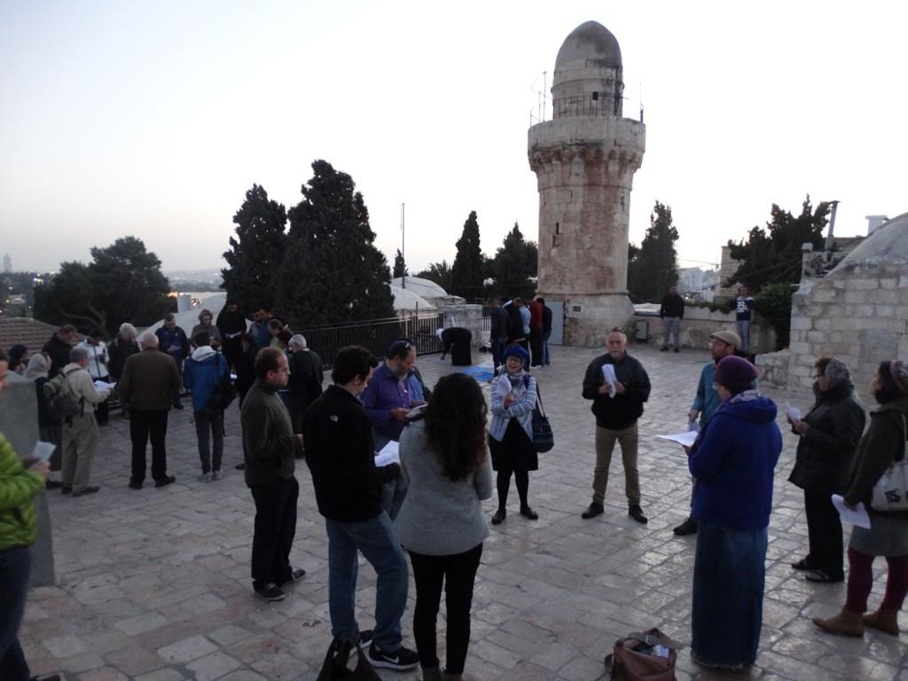 Praying Together in Jerusalem, March 30, 2017. Photo: Raanan Mallek