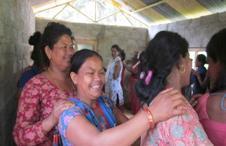 Building resilience in the village