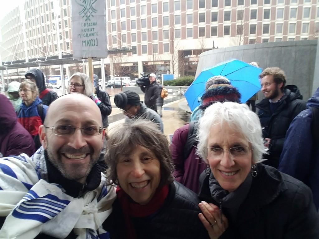 RDL, Marya, Nahma at Rally3-27-17