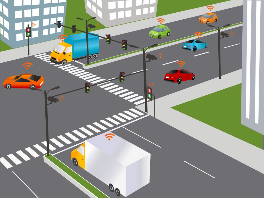 Smart Car Traffic and wireless network Intelligent Transport Systems