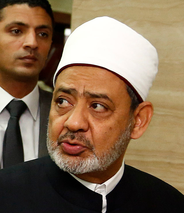 Ahmed El Tayeb, the Grand Imam of Al Azhar University in Egypt has said a number of hateful things about Jews and Zionism.
