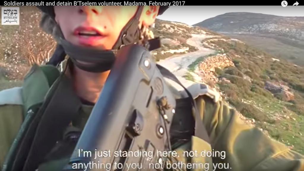 B'Tselem video screenshot