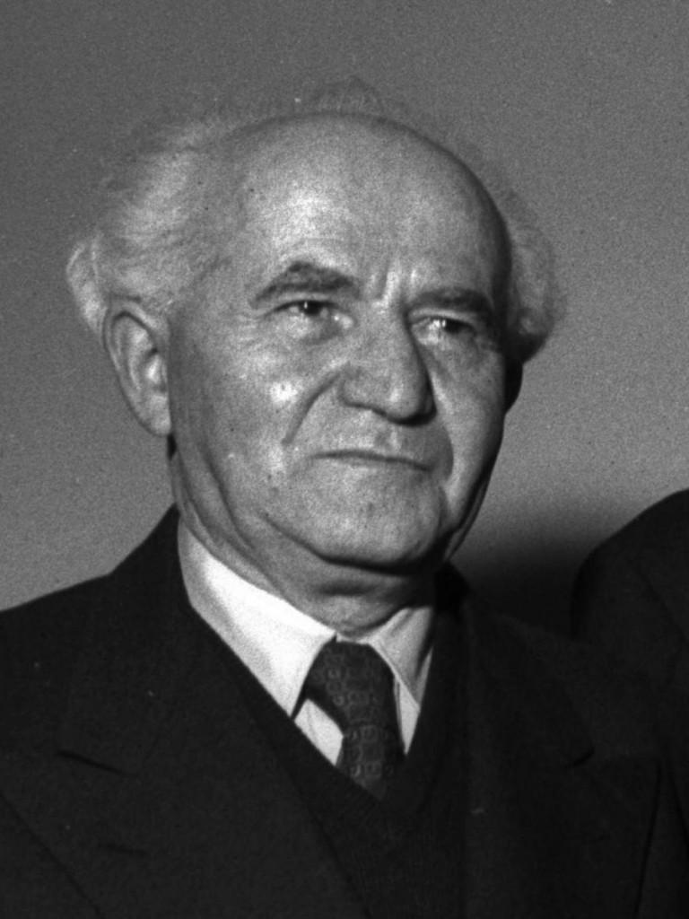 Photo of David Ben Gurion