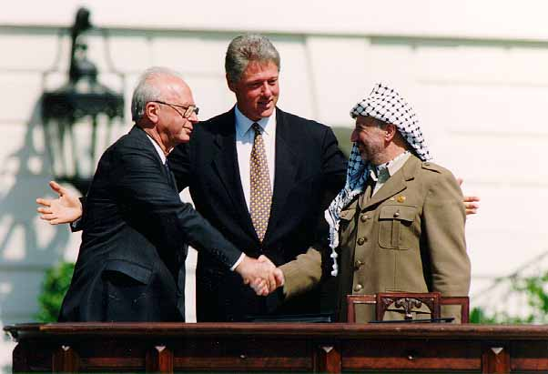 Rabin, Clinton and Arafat 1993