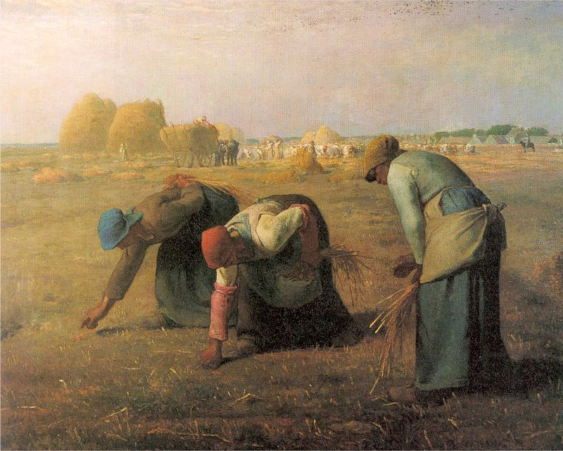 """""""The Gleaners."""" Oil painting by Jean-François Millet"""