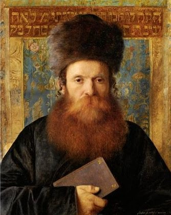 Portrait of a rabbi (Wikimedia)