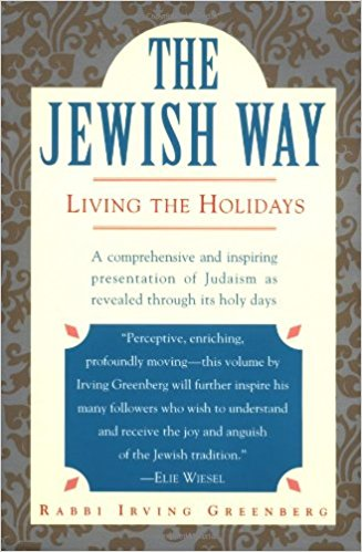 The Jewish Way by Irving Greenberg cover image