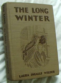 The Long Winter by Laura Ingalls Wilder book cover