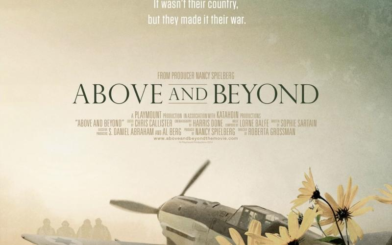 promotional poster for movie Above and Beyond