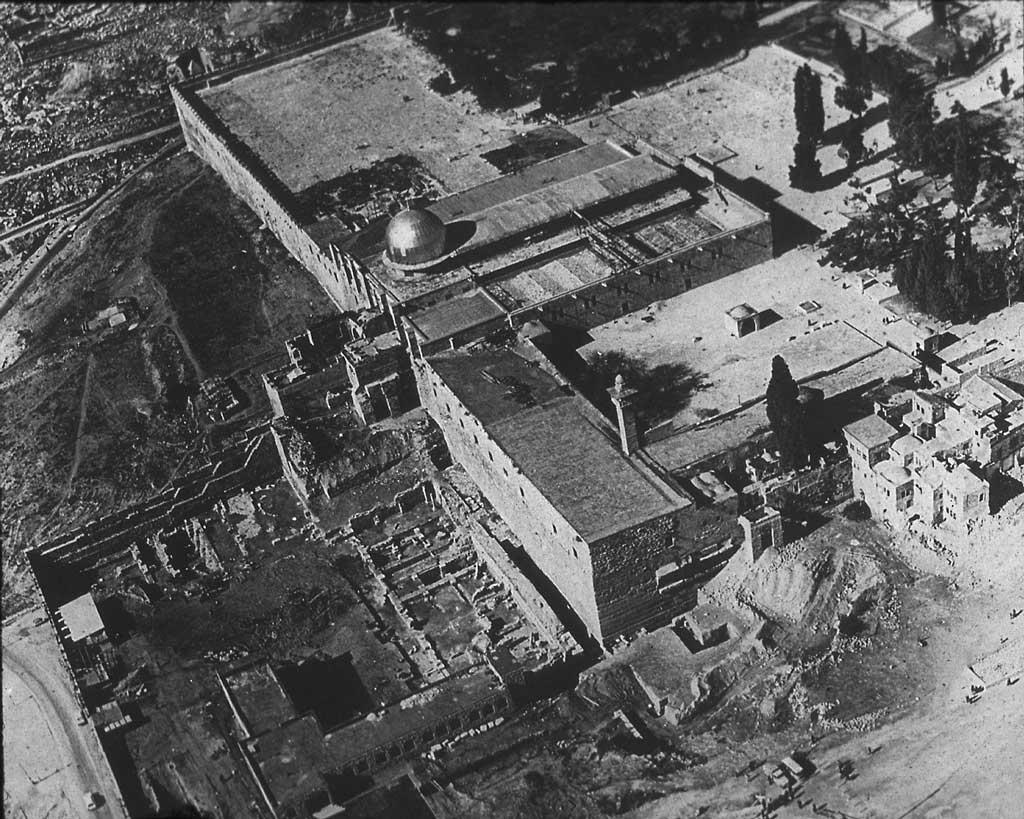 The Al-Aqsa Mosque before the 1967 War