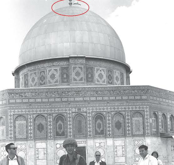 3 Hours in 1967: Israeli Flag above the Dome of the Rock