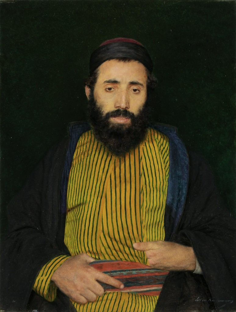 Portrait of a Sephardic Jew, c. 1900 (thejewishmuseum.org)