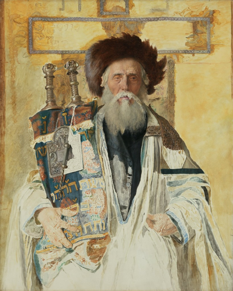 Of the High Priest's Tribe, Isidor Kaufmann, 1921 (thejewishmuseum.org)