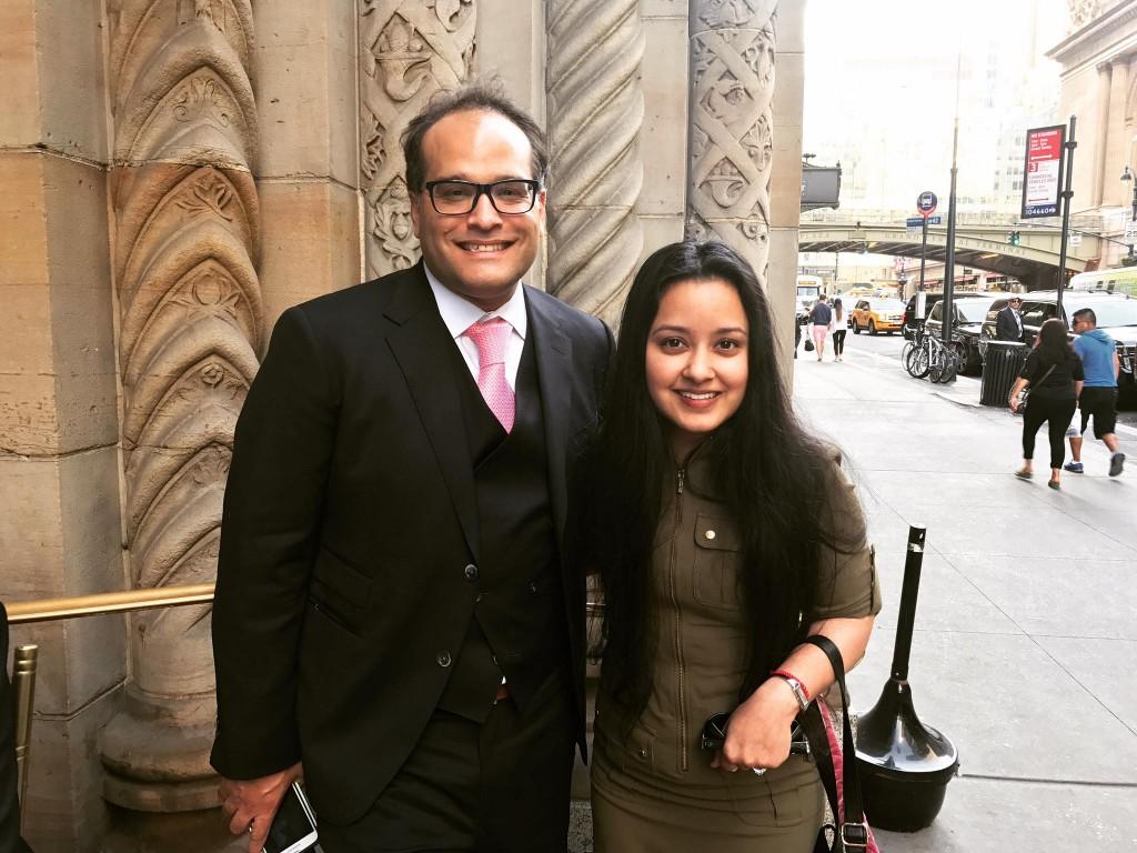 Ari Zoldan and Farhana Rahman