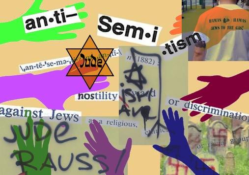Anti semitism collage