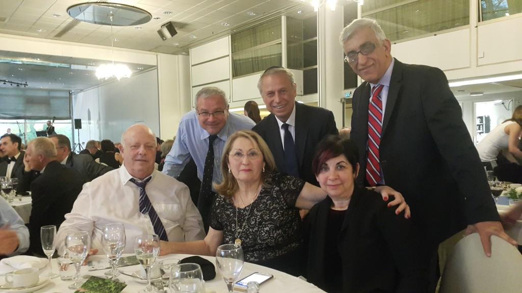 Fig 5. Israeli delegation
