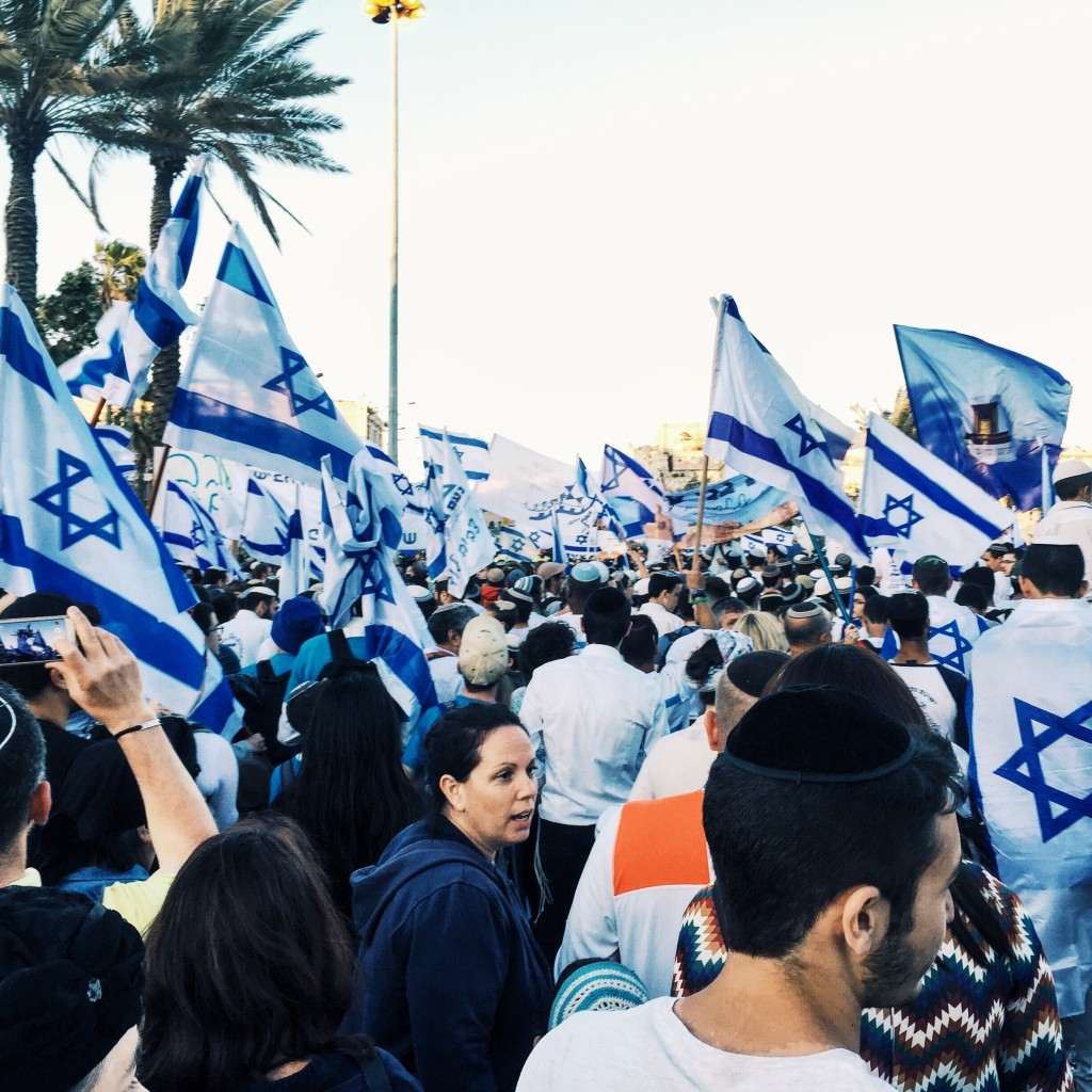 Jerusalem Day March of The Flags
