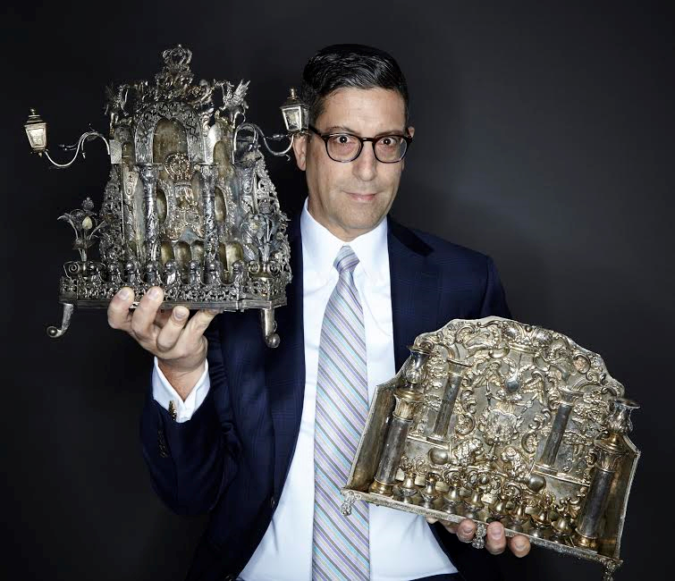 J. Greensteing and Co. Gallery Owner, Founder and Auctioneer, Jonathan Greenstein.