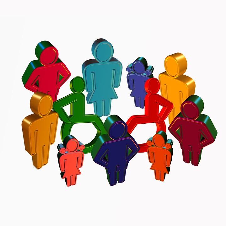 inclusion group from Pixabay