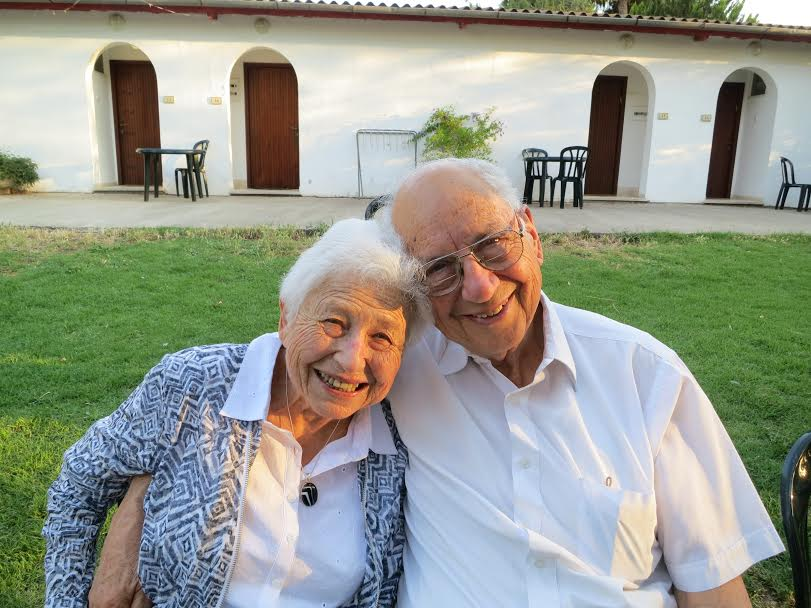 Mom and Dad - Chaya and Meir Loewenberg