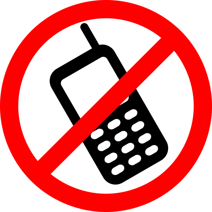 anti-cell phone graphic