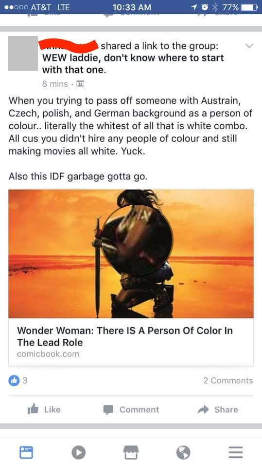 Yes Ashkenazi Jews Including Gal Gadot Are People Of Color Dani